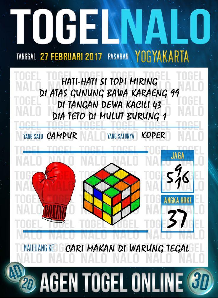 Lotre Taysen 4D Togel Wap Online Live Draw 4D TogelNalo Yogyakarta 27 Februari 2017