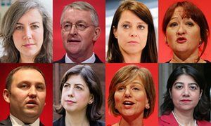 Shadow cabinet resignations Heidi Alexander, Hilary Benn, Gloria de Piero, Kerry McCarthy, Ian Murray, Lucy Powell, Lilian Greenwood, and Seema Malhotra