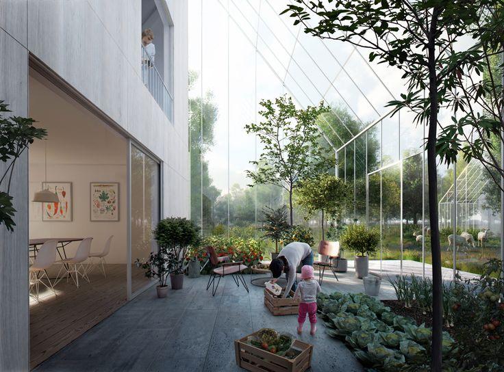 In Almere wordt deze zomer een duurzaam dorp opgebouwd - Roomed
