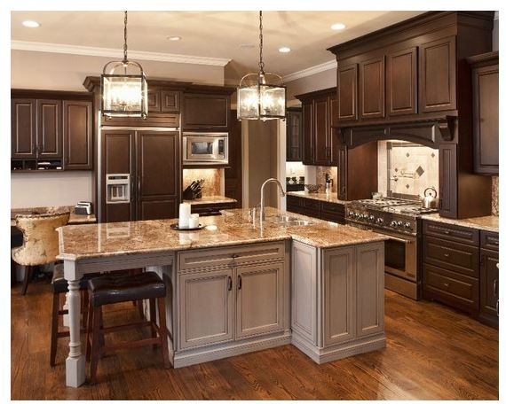 Maybe gold countertops?  I still love the idea of white though