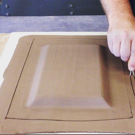 how to make a clay mug using slab building