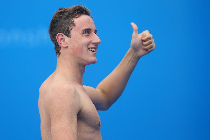 Cameron McEvoy of Australia