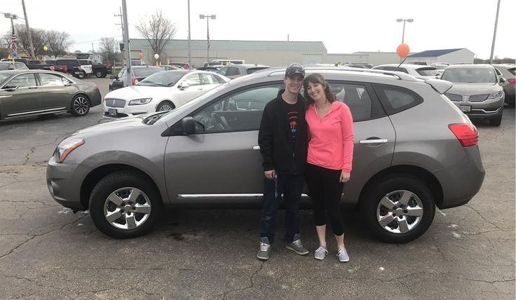 Devon and Haylee, we're so excited for all the places you'll go in your 2015 NISSAN ROGUE!  Safe travels and best wishes on behalf of Kunes Country Ford Lincoln of Sterling and ALEC MONAGHON.