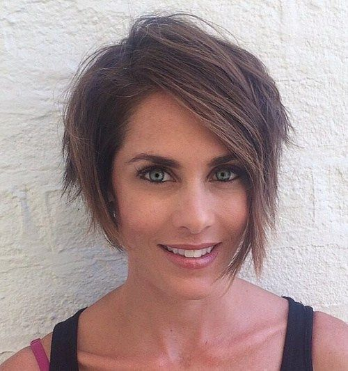 short edgy asymmetrical haircut