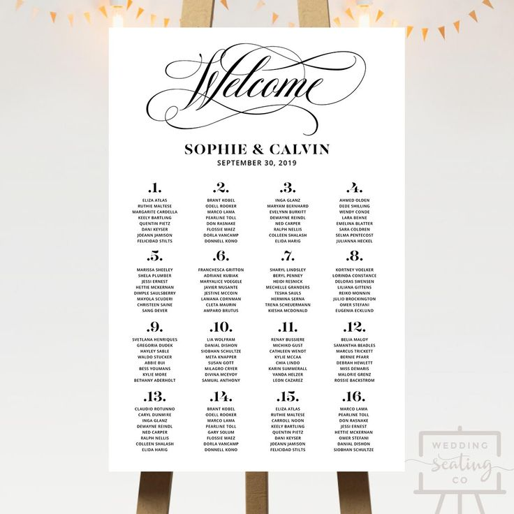 Printable Seating Chart For Wedding Reception: Best 25+ Reception Seating Chart Ideas On Pinterest