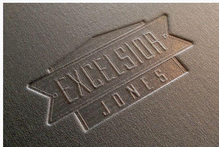Excelsior Jones - Menu Design