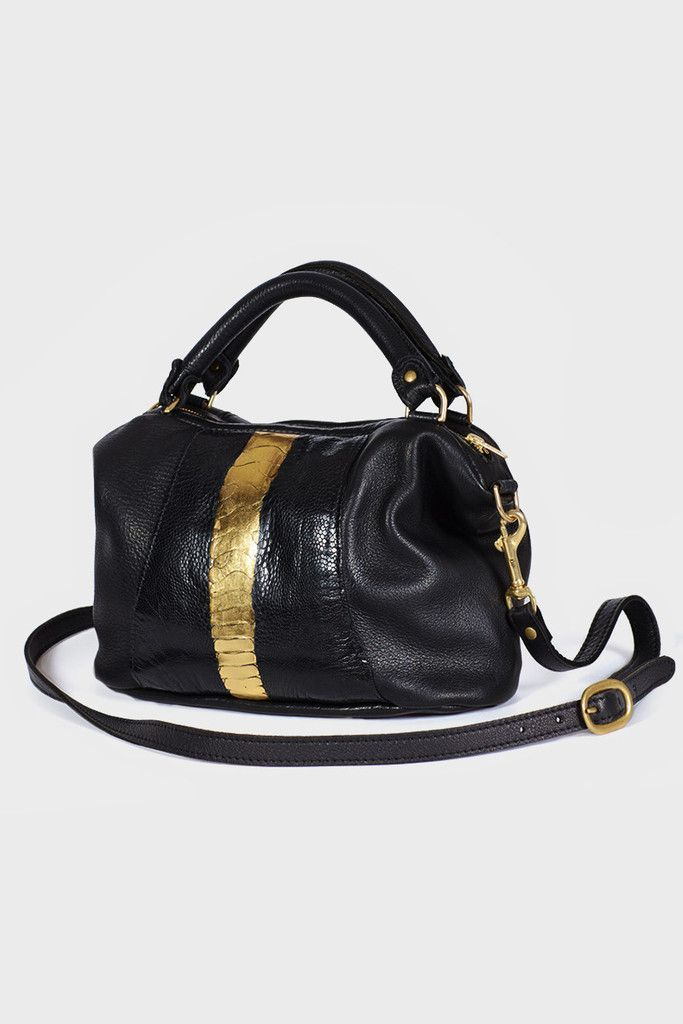Deadly Ponies, Mr Mini Fill N Zip Ostrich, black / gold http://www.goodasgold.co.nz/collections/deadly-ponies