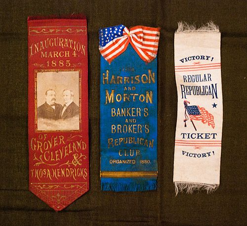 campaignribbons: this would be a pretty thing to collect. Did you vote today?