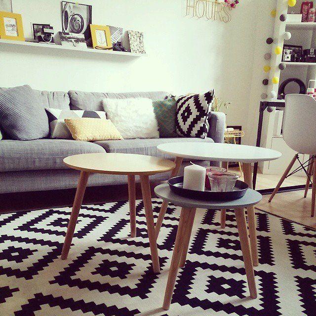 deco salon scandinave pinterest. Black Bedroom Furniture Sets. Home Design Ideas