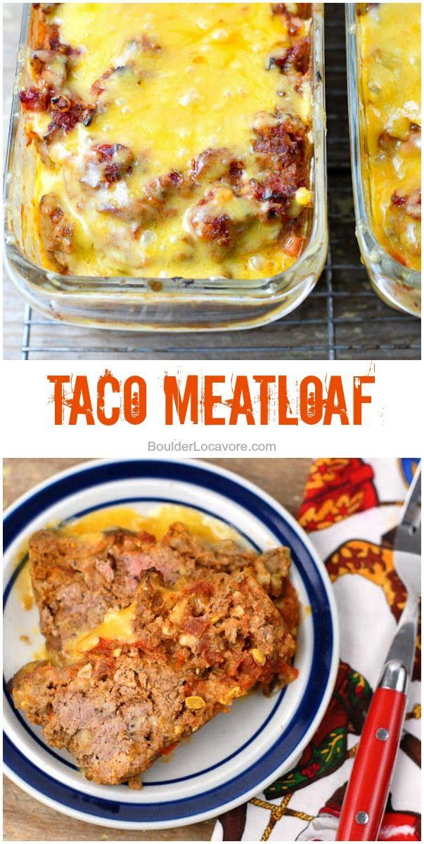 Taco Meatloaf | Boulder Locavore