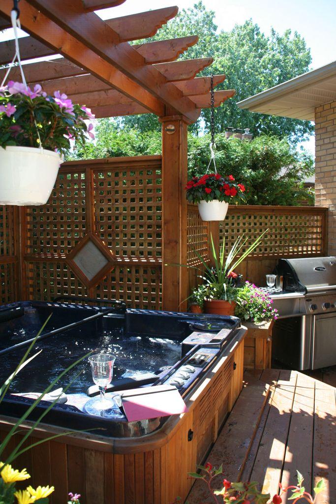 94 best pool bar spa jacuzzi hottub images on Pinterest ...