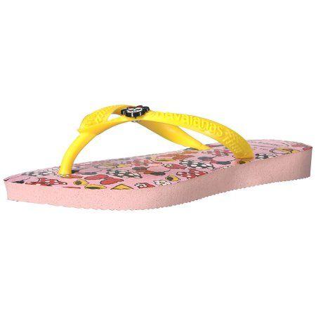 0c938266d Havaianas Girls Kids Slim Disney Cool Sandal Flip Flop - Pearl Pink - 25 26  BR  disneyweddings