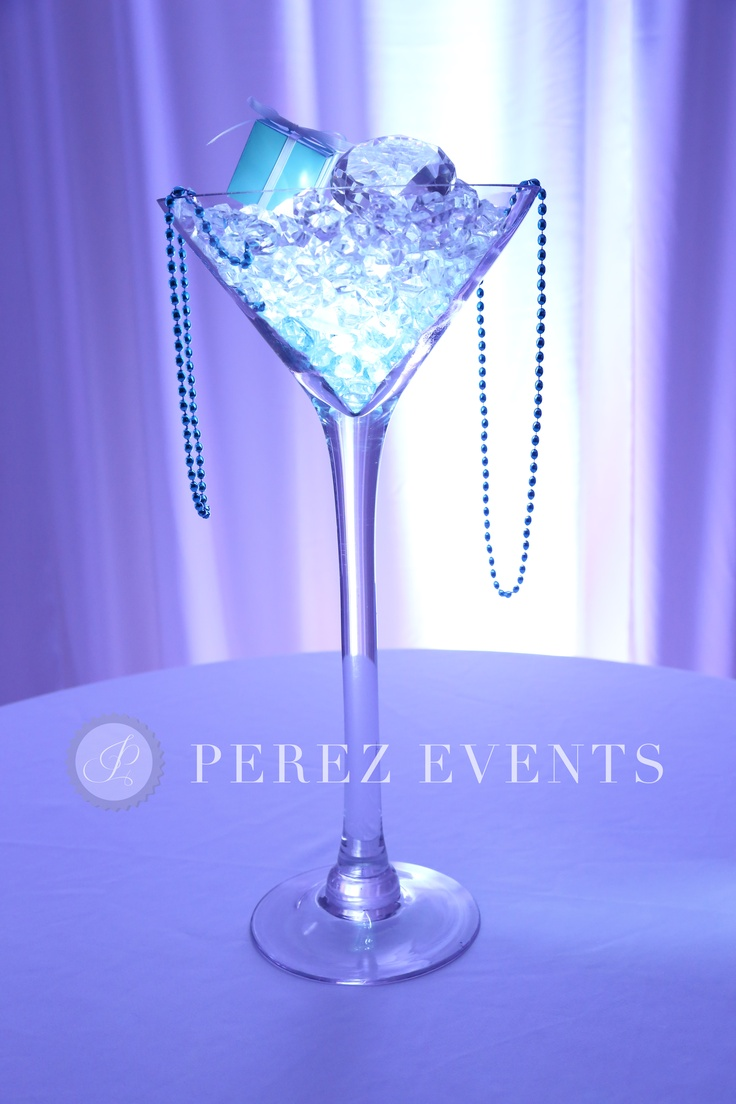 183 best martini centerpieces images on pinterest table centers martini glass centerpiece reviewsmspy