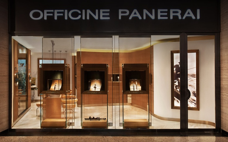 OFFICINE PANERAI BOUTIQUE IN ABU DHABI ETIHAD TOWERS on www.presentwatch.com