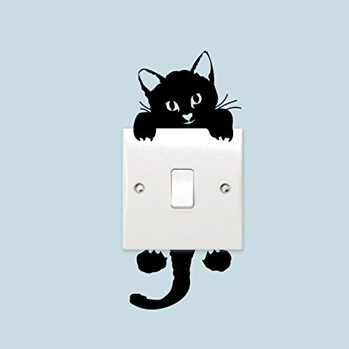Zooarts Black Lovely Kitten Removable Wall Stickers Art D... https://www.amazon.co.uk/dp/B01JZ2LGYM/ref=cm_sw_r_pi_dp_x_u6TNybGFTET05