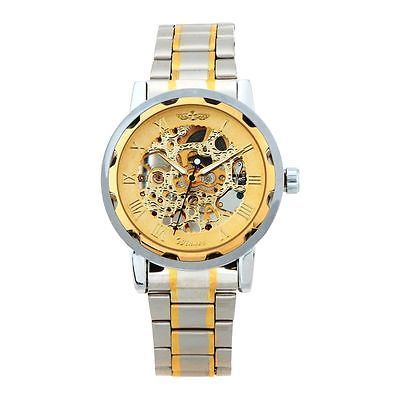 Montre Squelette Homme  Luxe Automatique Mécanique    - Men Watch Skeleton