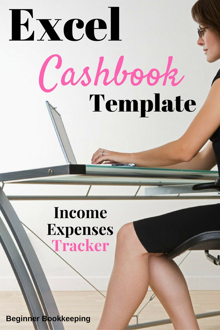 Free, fully customizable excel cashok for easy bookkeeping