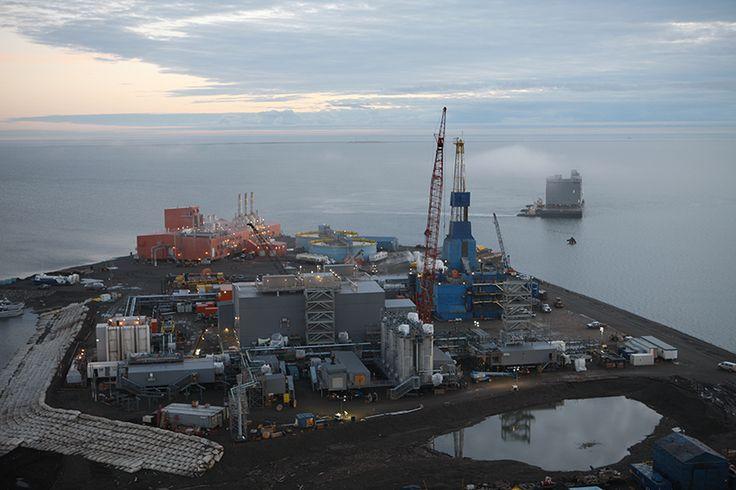 #Eni's Nikaitchuq #plant. #oil #fuel #energy #economy #resources #Alaska #US http://www.abo.net/en_IT/publications/reportage/alaska_2015/alaska_2015.shtml