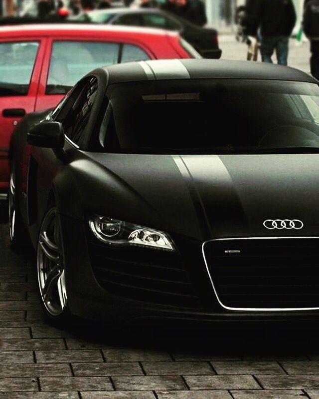 Beautiful Audi R8 in Matte Black