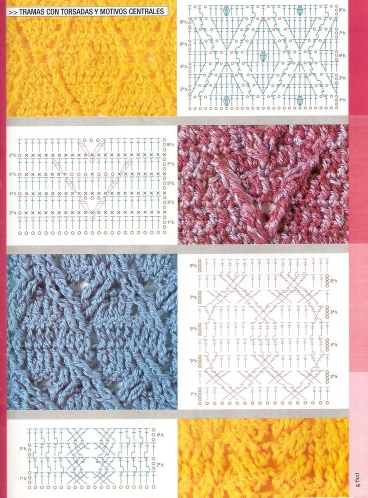 1229 best Crochet Stitches images on Pinterest | Crochet pattern ...
