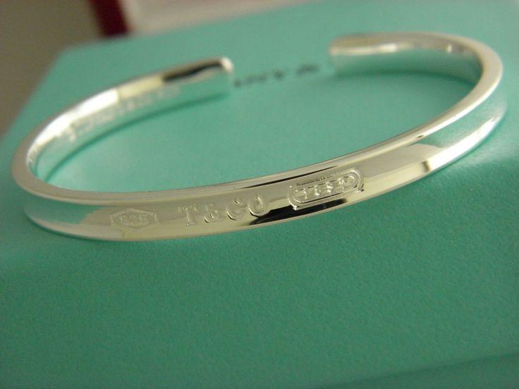 Tiffany & Co. Tiffany 1837 Cuff Narrow Bracelet In Sterling Silver Sz Small. #TiffanyCo