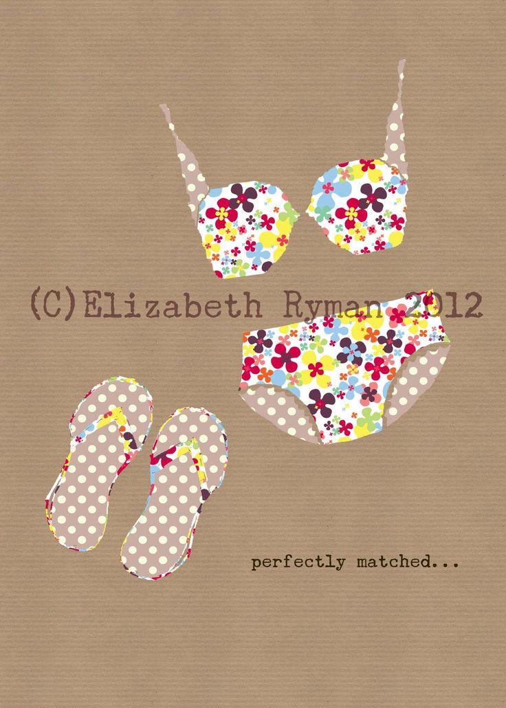 'Perfectly Matched...' (c)ElizabethRyman2013 for www.cinnamontoastdesigns.com