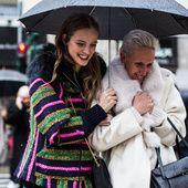 Street looks at Milan Fashion Week Fall/Winter 2016-2017 | Vogue Paris
