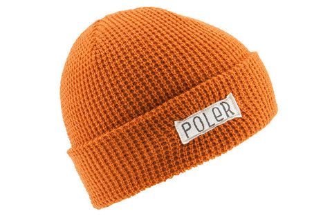 Poler Worker Man Beanie - Burnt Orange www.westgoods.co