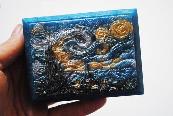 Inspired  'Starry Night' parody Soap
