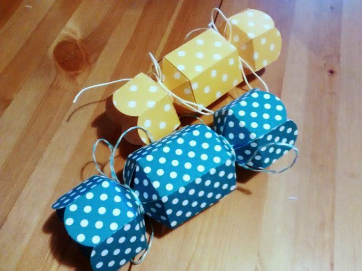 Scatola caramella porta confetti, bomboniera battesimo, matrimonio, laurea , sacchetto per confetti , by Origart, 1,50 € su misshobby.com