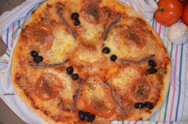 Pizza sicilienne aux anchois