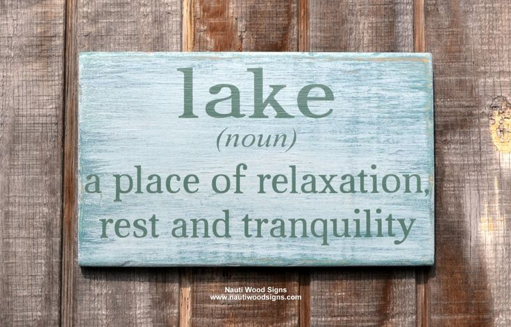 www.nautiwoodsigns.com Lake House, Lake Decor, Lake Life, Lake Noun Sign, The Lake Is My Happy Place, Rustic Wood Signs, Lake House Decor, Lake Sign, Rustic Lake Quote Sayings on Wood, Plaque, Lake Sign, River Sign, Cabin Cottag