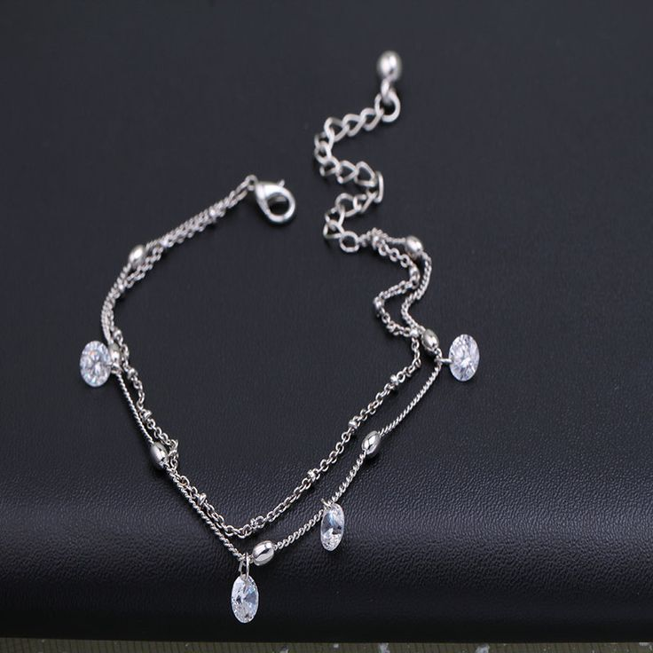 Fashion crystal ankle bracelet foot pulsera tobillo silver leg chain stone anklets for women gift summer beach bracelet cheville♦️ SMS - F A S H I O N 💢👉🏿 http://www.sms.hr/products/fashion-crystal-ankle-bracelet-foot-pulsera-tobillo-silver-leg-chain-stone-anklets-for-women-gift-summer-beach-bracelet-cheville/ US $2.19