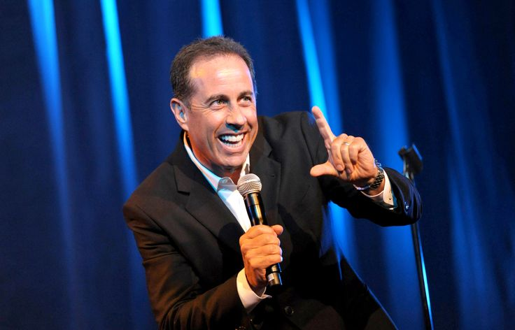 Jerry Seinfeld  Best Birthday Gift!! (from Marianne) July 2016   I laughed until I cried!  It was the perfect night.  vc
