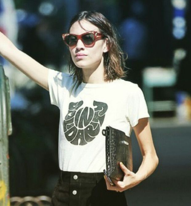 Alexa Chung- Find out how to steal her style over on my blog, Pig and Pepper.