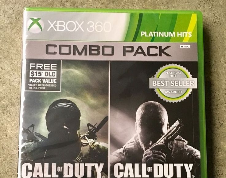 CALL OF DUTY: BLACK OPS 1 & 2 XBOX 360 2015 BRAND NEW!