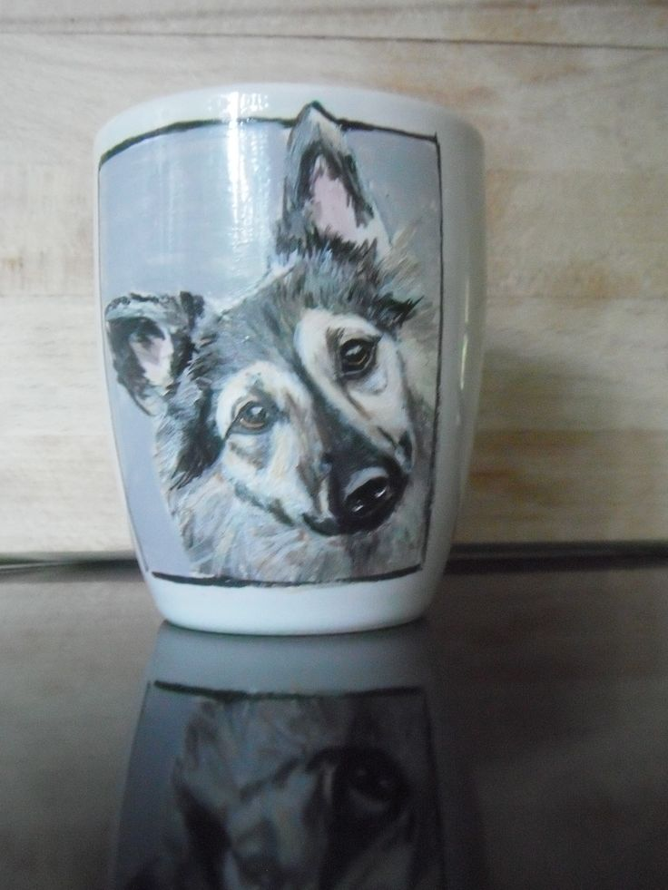 Beautiful hand painted dog portraits