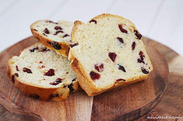 Na vidličku: Brusinkový chlebíček