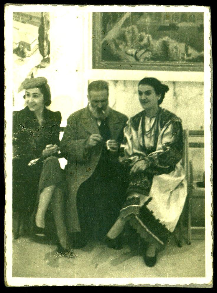 Brancusi & Maria Tanase
