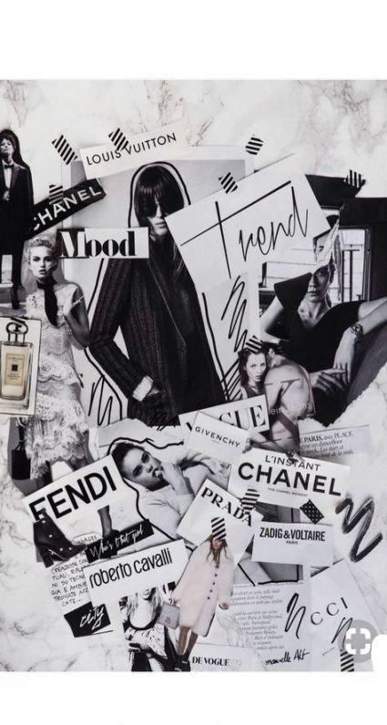 New Fashion Design Collage Artists Ideas