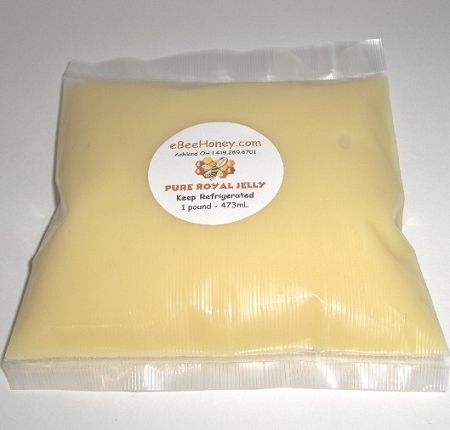 Royal Jelly which is fresh frozen, 1 pound