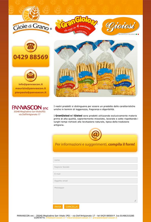 PanVascon - #Web #Marketing #landingpage