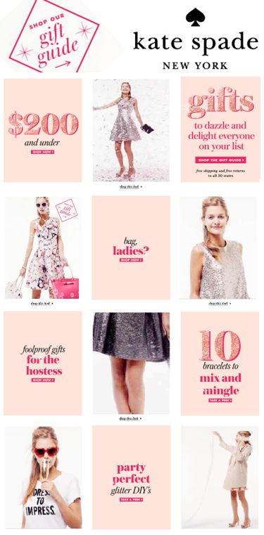 The Kate Spade gift guide! I'll take one of everything, please! So many sweet…