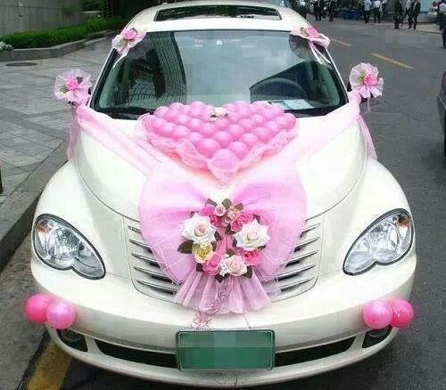 Just married car decor ideas & The 33 best Wedding Cars Ideas images on Pinterest | Wedding car ...