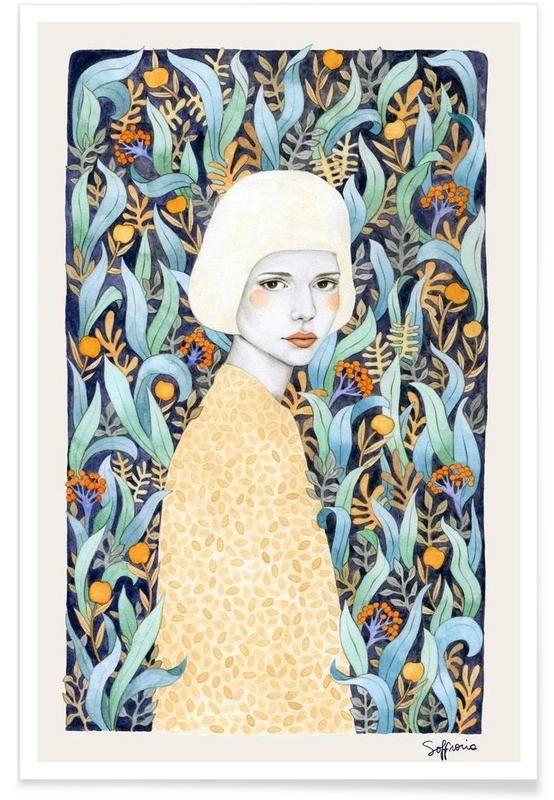 Emilia by Sofia Bonati. Sweet child of mine. Love the colour combo.