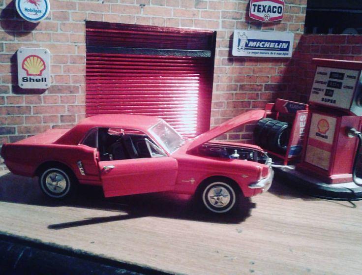 Diorama Taller #FordMustang