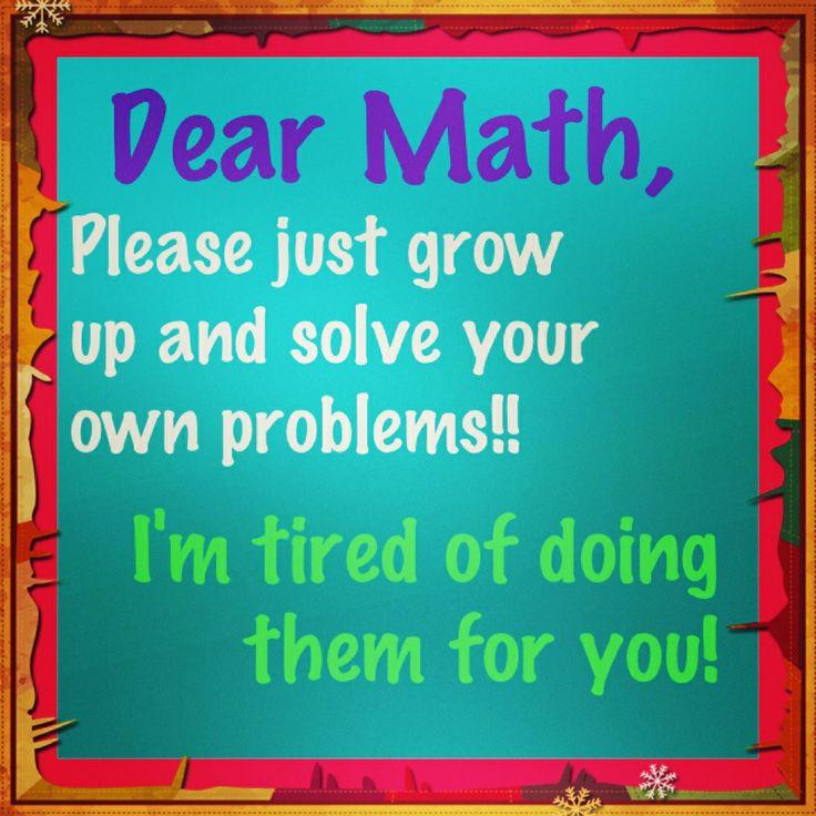 I Hate Math Quotes. QuotesGramI Hate Math