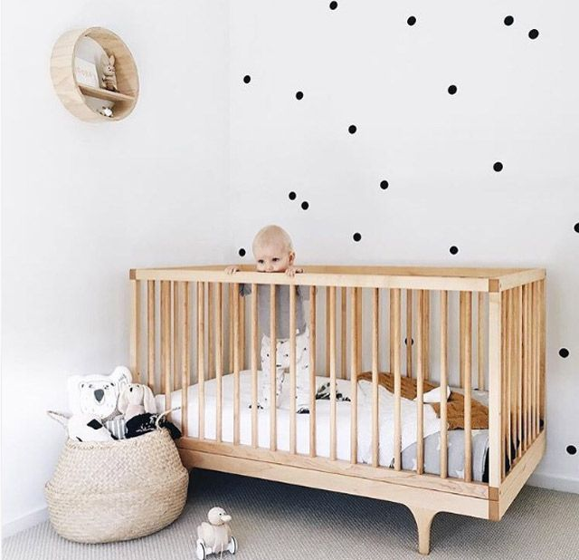 the best Scandinavian inspired and modern nursery designs