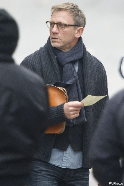 Daniel Craig from The Girl with the Dragon Tattoo