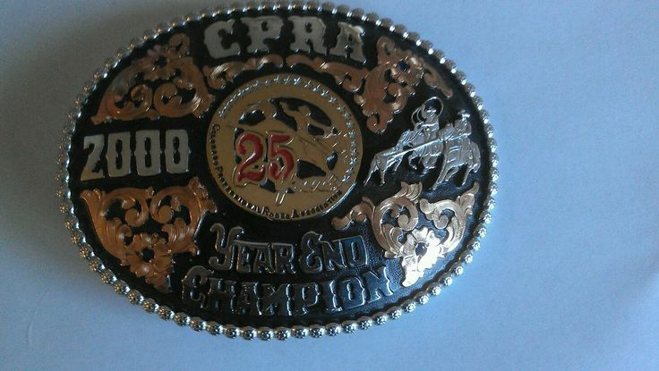 Vintage Championship Trophy Red Bluff Rodeo Team Roping